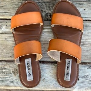 Leather Steve Madden sandals